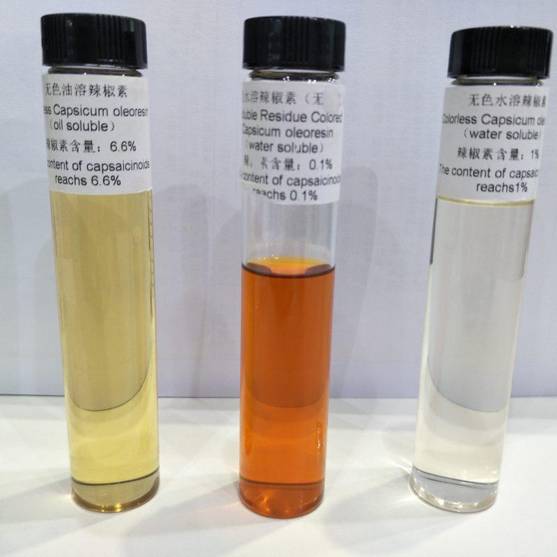 recolor capsicum oleoresin, water soluble capsicum oleoresin